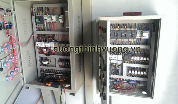 Thiết kế và lắp đặt tủ điện cho hệ thống máy bơm tăng áp