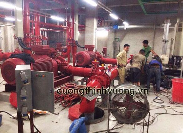 Dịch vụ sửa máy bơm nước công nghiệp của Cường Thịnh Vương