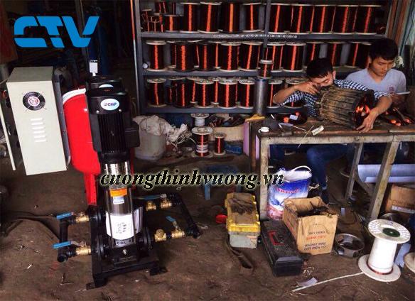Cho thuê máy bơm trục đứng chính hãng giá rẻ nhất thị trường